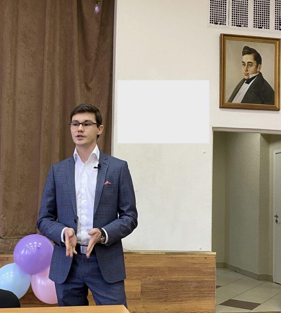Выступление перед студентами ИМПЭ им. Грибоедова